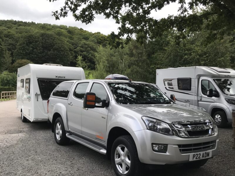 Touring caravan delivery  Warrington to the Lakes