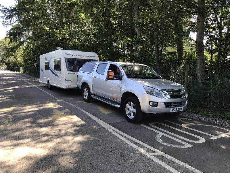 Touring caravan delivery to Keswick in the Lake District