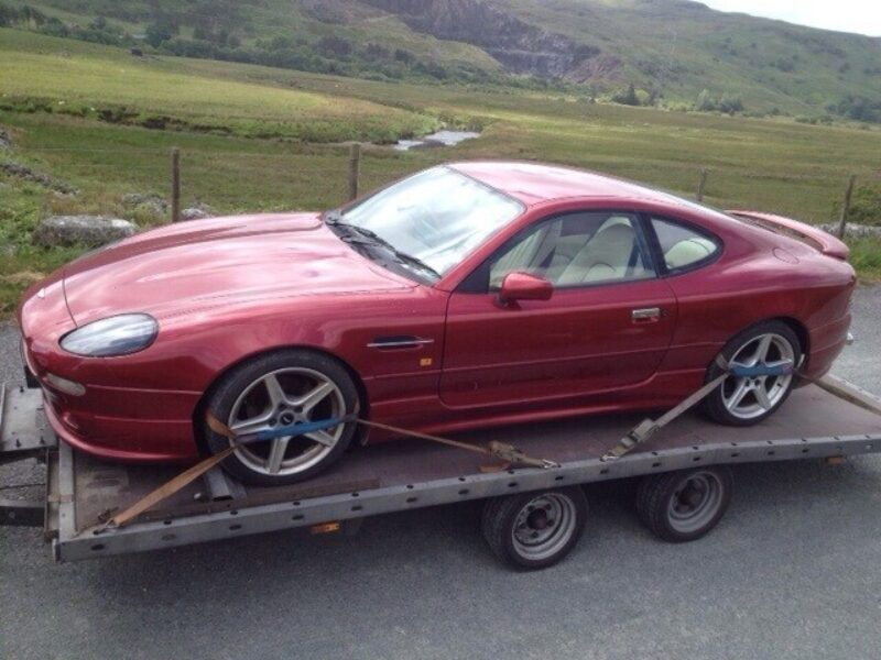 Jaguar XK8 delivery to North Wales by Zoom