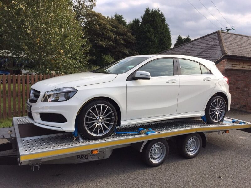Company car delivery for Mercedes-Benz f Bolton