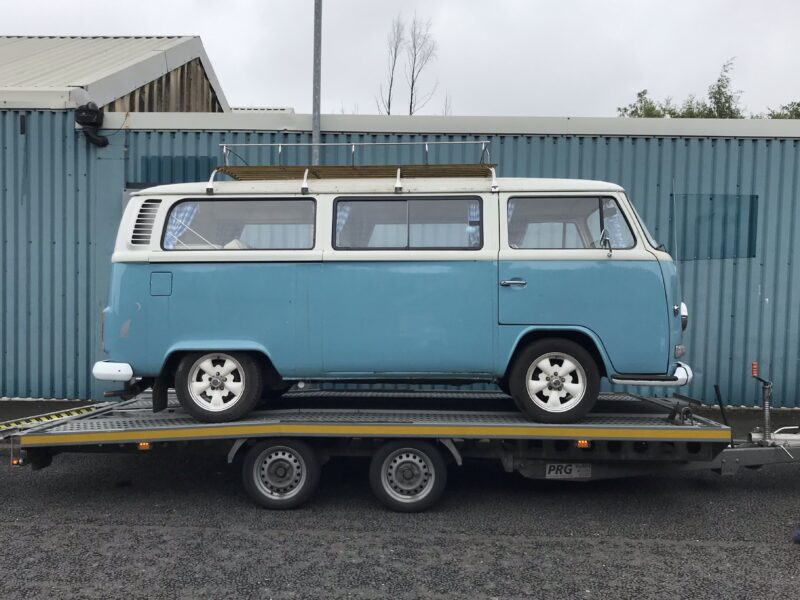 VW T2 Transport to Matthewsons auction inn York