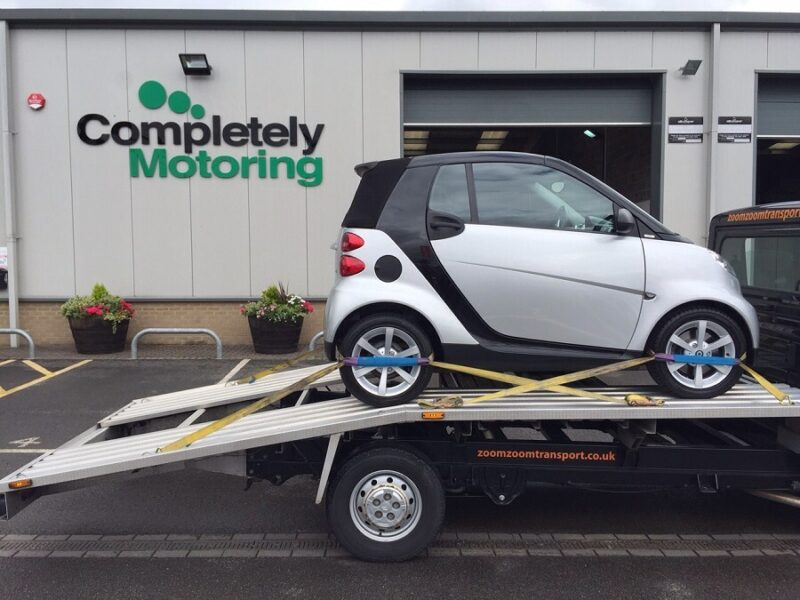 Delivery of Smart ForTwo Cabriolet to chester