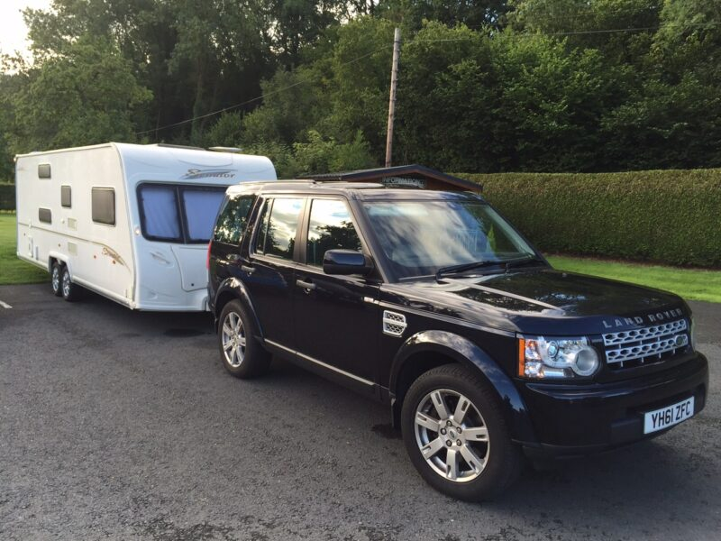 Caravan towing and delivery service North Wales