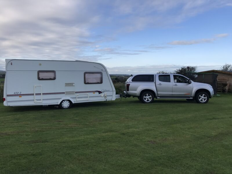 Caravan collection from Anglesey