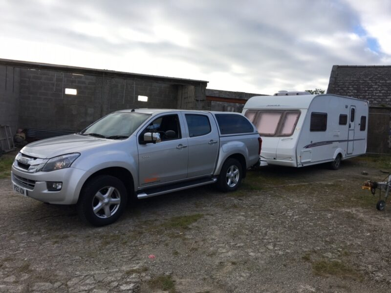 Collection of touring caravan by Zoom