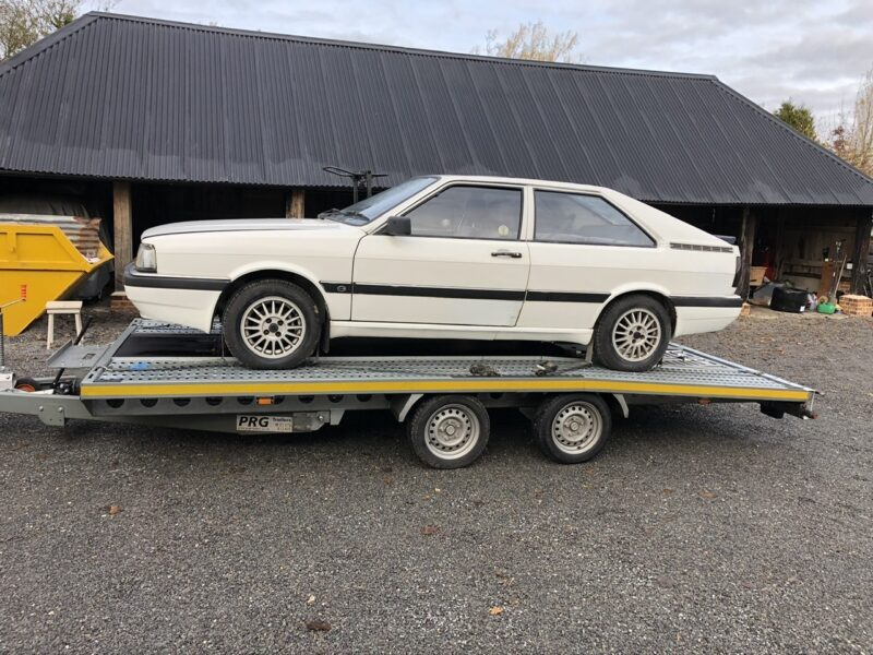 VW Scirocco Transport