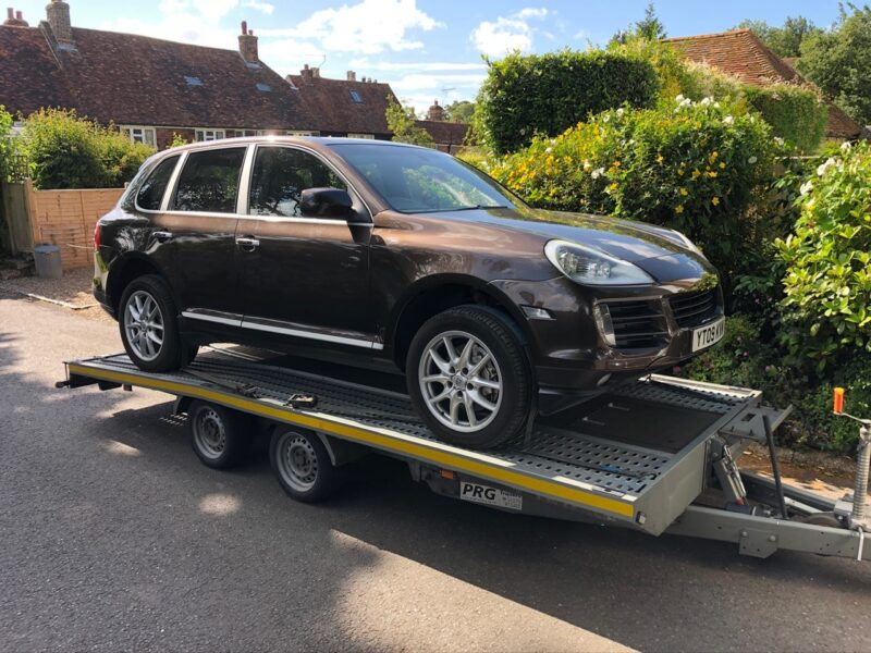 Used Porsche Cayenne Collection and Delivery by Zoom