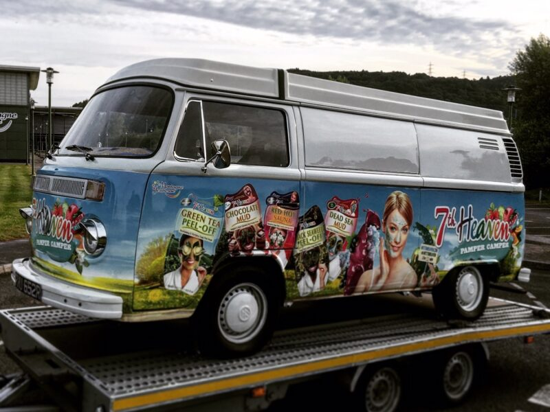 Transport of VW T2 promotional vehicle