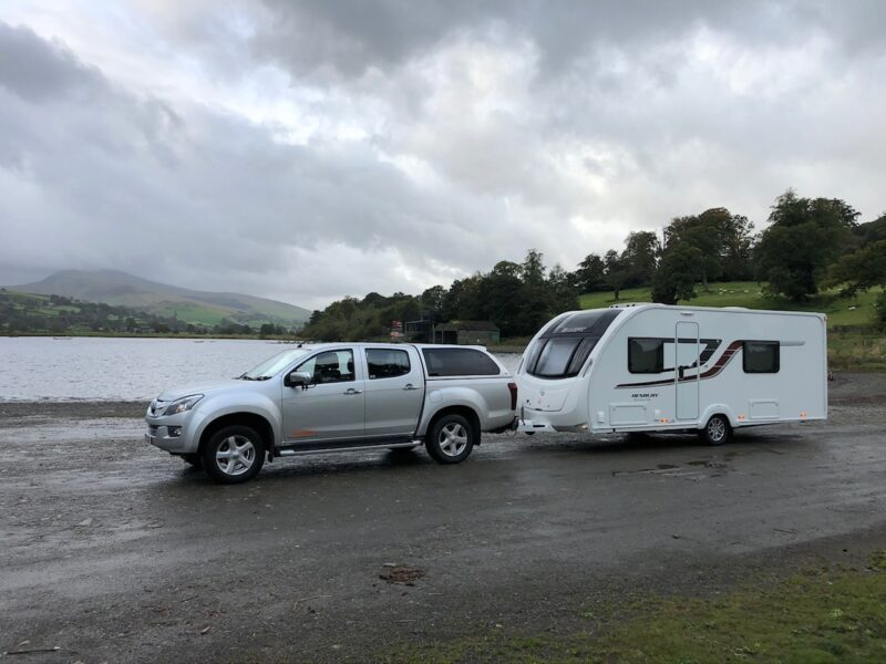 Caravan towing and delivery