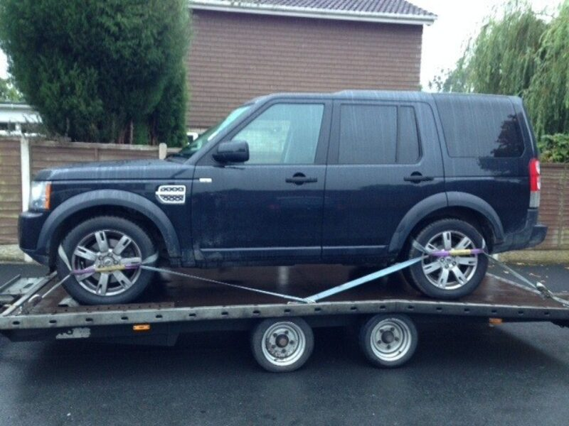 Landrover discovery transport