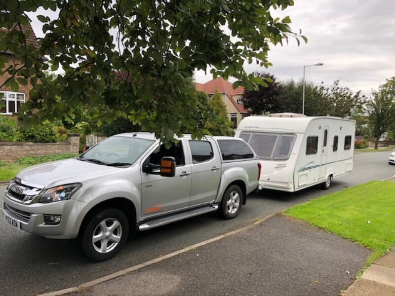 Touring caravan delivery to North Yorkshire